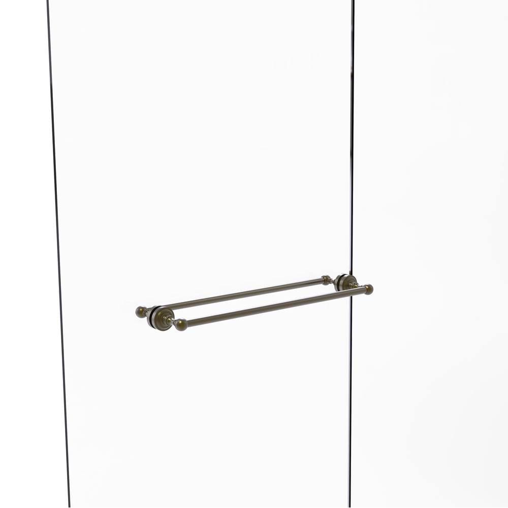 Allied Brass DT-41//30-SCH Dottingham Collection 30 Inch Towel Bar Satin Chrome