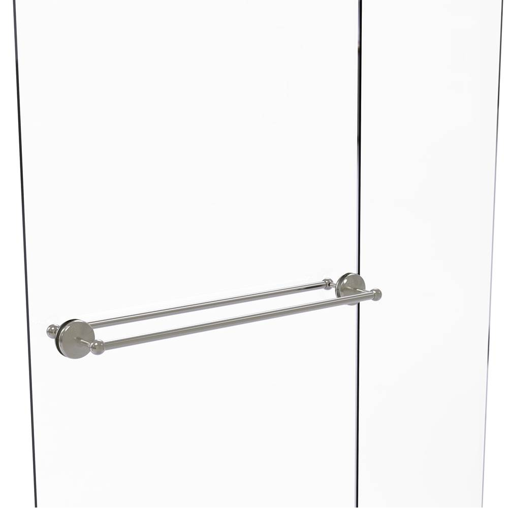 Satin Nickel Allied Brass 404-6BB-SN Contemporary 6 Inch Back Shower Door Pull