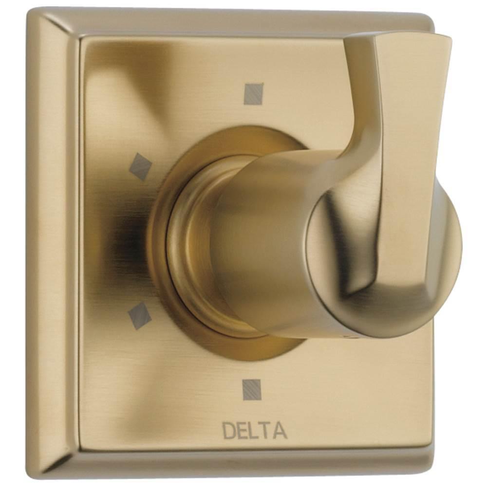 Champagne Bronze Delta-T11894-CZ Linden 3 Setting Diverter Trim