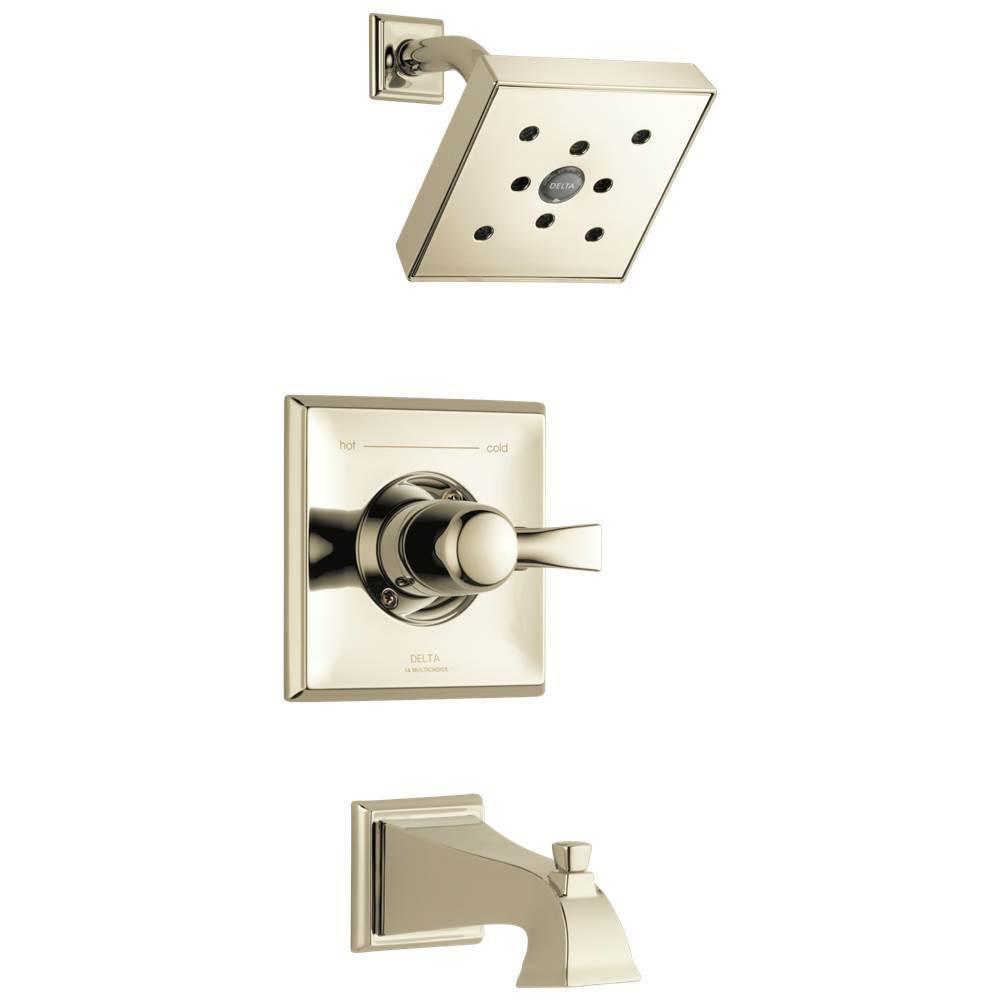 Polished Nickel, Delta Faucet T17251-PN-WE Dryden Monitor 17 Series Shower Trim