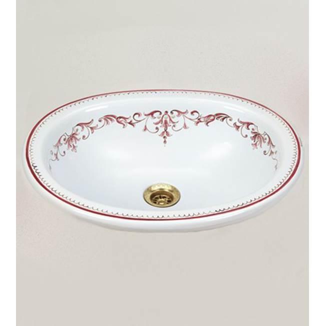 Herbeau 040105 At Willis Klein, Drop In Oval Bathroom Sinks