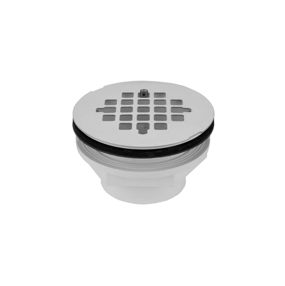 Matte Black Standard Plumbing Supply Jaclo 529-125-MBK Toe Control Drain Strainer