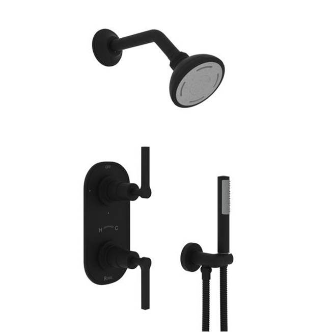 ROHL 1440//6OI SHOWER ARMS 6 Old Iron