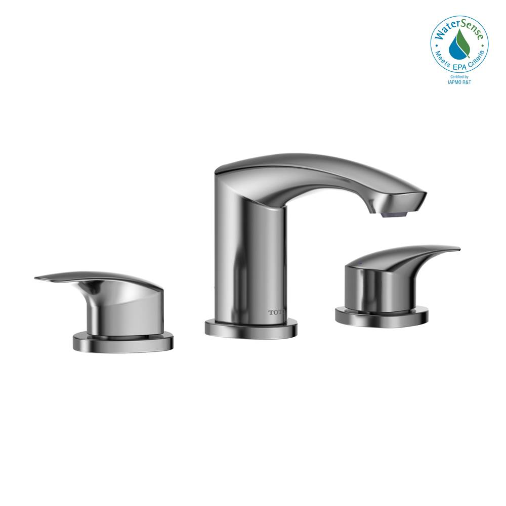 Toto TL230DD#PN Wyeth Widespread Lavatory Faucet Polished Nickel