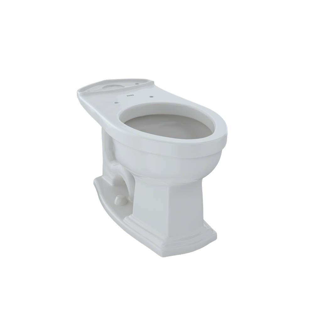 Colonial White Toto C404CUFG#11 Promenade II Toilet Bowl Unit Only With Cefiontect