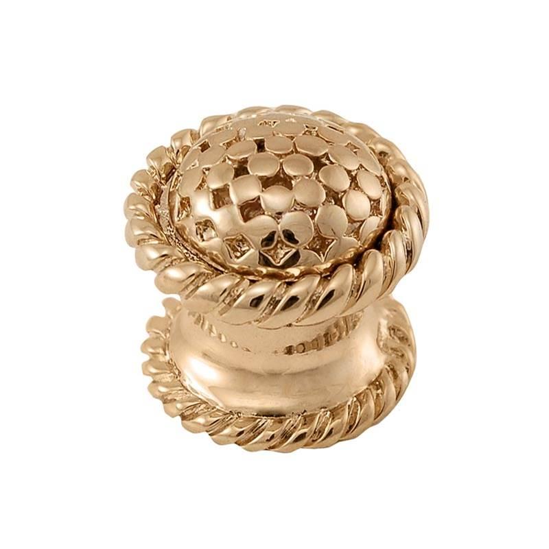 Antique Brass Vicenza Designs K1086 Ariosto Pull 3-Inch