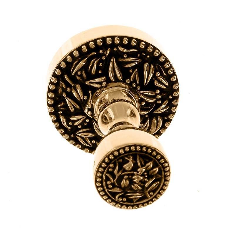 Vicenza Designs TR9014-AG Liscio Towel Ring Antique Gold